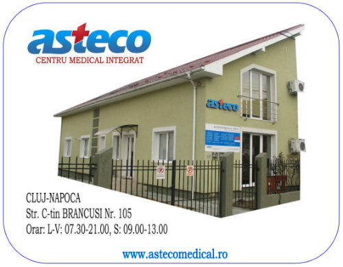 Asteco - Cabinet Medical Cluj Napoca - Centru Medical Integrat Cluj - Contact